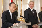 Ban Ki-moon e Pál Schmitt
