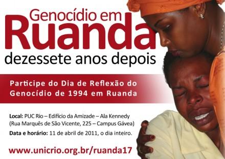 PUC-Rio e ONU lembram o genocídio em Ruanda, 17 anos depois