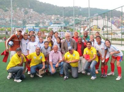 Dia Internacional da Paz é celebrado no Rio com final de campeonato de futebol feminino entre comunidades