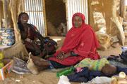 Mulher no campo de refugiados Ouré Cassoni, na região oriental do Chade. Foto: ONU.