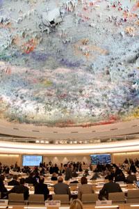 Foto do Conselho de Direitos Humanos das Nações Unidas. Crédito: ONU/ACNUDH.